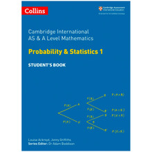 Collins Cambridge AS & A Level Maths Statistics 1 Student's Book - ISBN 9780008257767