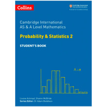 Collins Cambridge AS & A Level Maths Statistics 2 Student's Book - ISBN 9780008271879