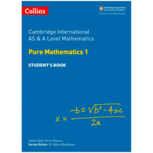 Collins Cambridge AS & A Level Pure Mathematics 1 Student's Book - ISBN 9780008257736