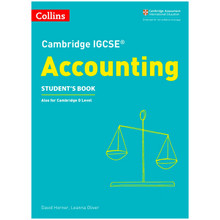 Collins Cambridge IGCSE Accounting Student's Book - ISBN 9780008254117