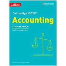 Collins Cambridge IGCSE Accounting Student's Book - ISBN 9780008254117