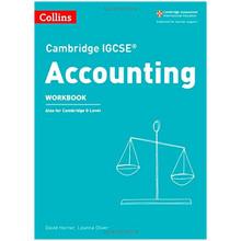 Collins Cambridge IGCSE Accounting Workbook - ISBN 9780008254124