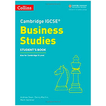 Collins Cambridge IGCSE Business Studies Student's Book - ISBN 9780008258054