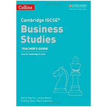 Collins Cambridge IGCSE Business Studies Teacher's Guide - ISBN 9780008258061
