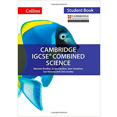 Collins Cambridge IGCSE Combined Science Student Book - ISBN 9780008191542