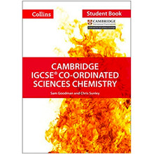Collins Cambridge IGCSE Co-ordinated Sciences Chemistry Student Book - ISBN 9780008210212