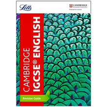 Letts Cambridge IGCSE English Revision Guide (Collins) - ISBN 9780008210366