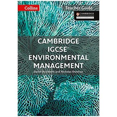 Collins Cambridge IGCSE Environmental Management Teacher Guide 1st Edition - ISBN 9780008190446