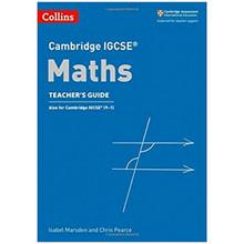 Collins Cambridge IGCSE Maths Teacher's Guide Third Edition - ISBN 9780008257804