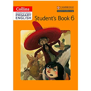 Collins Cambridge Primary English 6 Student's Book - ISBN 9780008147754