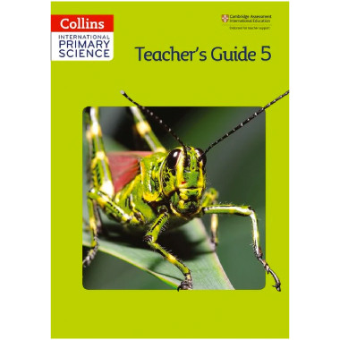 Collins International Primary Science 5 Teacher's Guide - ISBN 9780007586240