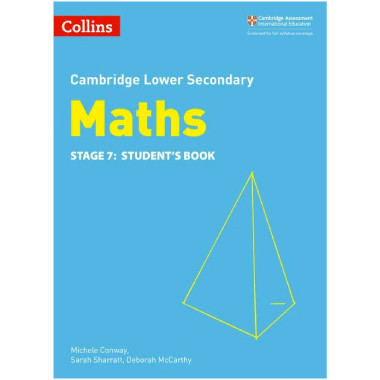 Collins Lower Secondary Maths Stage 7 Student's Book - ISBN 9780008213497