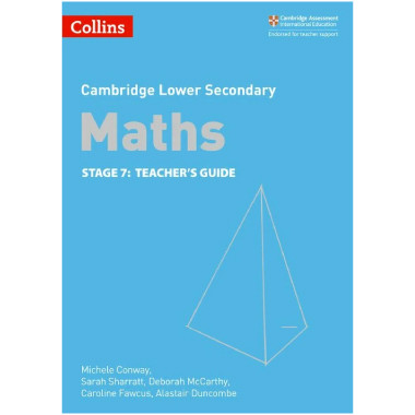 Collins Lower Secondary Maths Stage 7 Teacher's Guide - ISBN 9780008213510