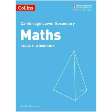 Collins Lower Secondary Maths Stage 7 Workbook - ISBN 9780008213503