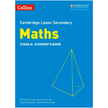 Collins Lower Secondary Maths Stage 8 Student's Book - ISBN 9780008213527