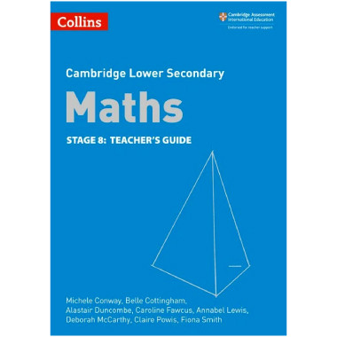 Collins Lower Secondary Maths Stage 8 Teacher's Guide - ISBN 9780008213541