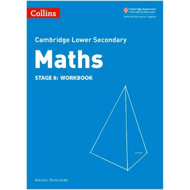 Collins Cambridge Lower Secondary Maths Stage 8 Workbook - ISBN 9780008213534