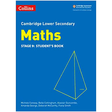 Collins Cambridge Lower Secondary Maths Stage 9 Student's Book - ISBN 9780008213558