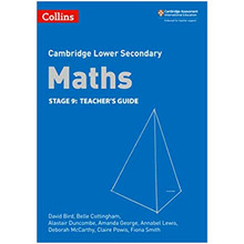 Collins Cambridge Lower Secondary Maths Stage 9 Teacher's Guide - ISBN 9780008213572