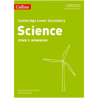 Collins Lower Secondary Science Stage 7 Workbook - ISBN 9780008254711