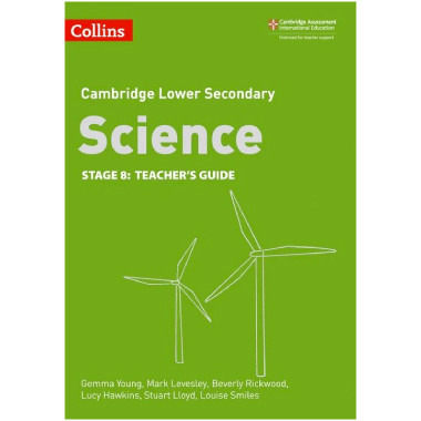 Collins Lower Secondary Science Stage 8 Teacher's Guide - ISBN 9780008254698