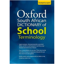 Oxford South African Dictionary Of School Terminology - ISBN 9780190441067
