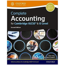 Complete Accounting for Cambridge IGCSE & O Level (2018 Edition) - ISBN 9780198425236