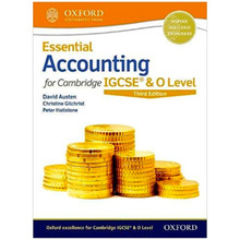 Essential Accounting for Cambridge IGCSE Student Book 3rd Edition - ISBN 9780198424833
