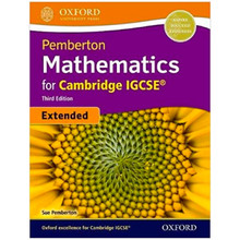 Pemberton Mathematics for Cambridge IGCSE Student Book (Extended) 3rd Edition 2018 - ISBN 9780198424802