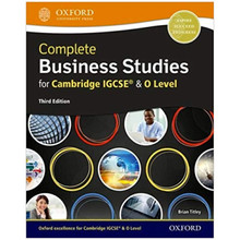 Complete Business Studies for Cambridge IGCSE & O Level Student Book 3rd Edition - ISBN 9780198425267