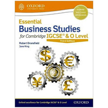 Essential Business Studies for Cambridge IGCSE Student Book 3rd Edition - ISBN 9780198424864