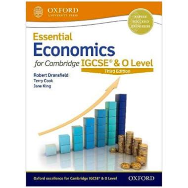 Essential Economics for Cambridge IGCSE Student Book 3rd Edition - ISBN 9780198424895