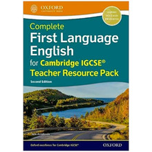Complete First Language English for Cambridge IGCSE Teacher Resource Pack (2nd Edition) - ISBN 9780198428190