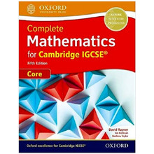 Complete Mathematics for Cambridge IGCSE Student Book (Core) 5th Edition - ISBN 9780198425045
