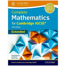 Complete Mathematics for Cambridge IGCSE Student Book (Extended) 5th Edition - ISBN 9780198425076