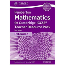 Pemberton Mathematics for Cambridge IGCSE Teacher Pack (Extended) 3rd Edition - ISBN 9780198428473