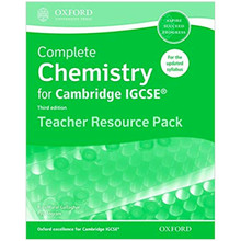 Complete Chemistry for Cambridge IGCSE: Teacher Resource Pack - ISBN 9780198308768