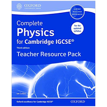 Complete Physics for Cambridge IGCSE: Teacher's Resource Pack - ISBN 9780198308775