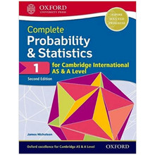 Complete Probability & Statistics 1 for Cambridge International AS and A Level Student Book 2nd Edition - ISBN 9780198425151