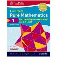 Complete Pure Mathematics 1 for Cambridge International AS and A Level Student Book 2nd Edition - ISBN 9780198425106