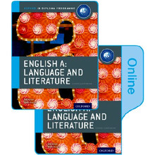 IB English A Language and Literature Print and Online Course Book Pack - ISBN 9780198368472