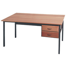 Economy SALIGNA Teachers Desk with Lockable Drawers