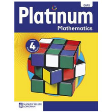 Platinum MATHEMATICS Grade 4 Learners Book - ISBN 9780636135338