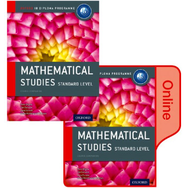 IB Mathematical Studies Print and Online Course Book Pack 2nd Edition - ISBN 9780198355106