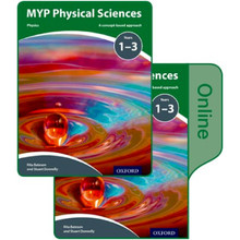 MYP Physical Sciences: a Concept Based Approach: Print and Online Pack - ISBN 9780198370093