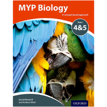 MYP Biology: a Concept Based Approach - ISBN 9780198369950