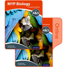 MYP Biology: a Concept Based Approach: Print and Online Pack - ISBN 9780198370062