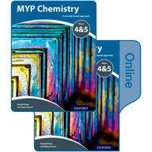 MYP Chemistry: a Concept Based Approach: Print and Online Pack - ISBN 9780198370079