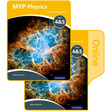 MYP Physics: a Concept Based Approach: Print and Online Pack - ISBN 9780198375579