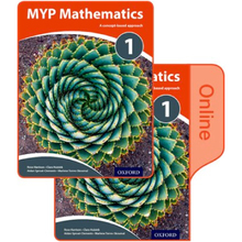 MYP Mathematics 1: Print and Online Course Book Pack - ISBN 9780198356257